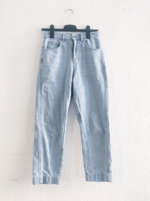 Asos Pantalon taille haute bleu azur