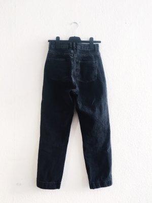 Asos Pantalon taille haute noir