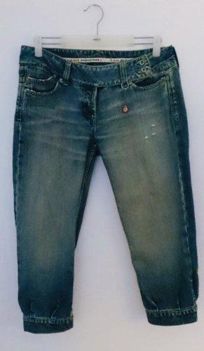 Coole asymmetrische 3/4 Jeans