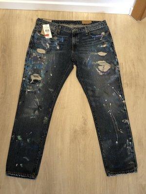 Coole ausgefallene Boyfriend Jeans