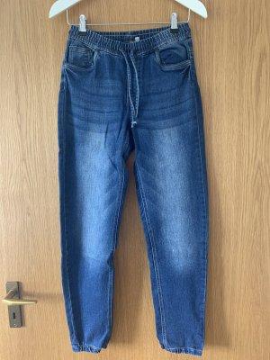 coole Baggy-Jeans mit elastischem Bund