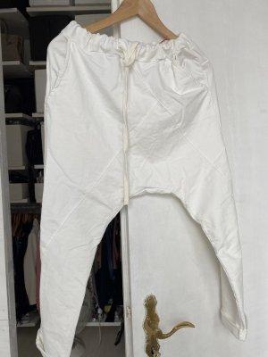 Sonstige Pantalón estilo Harem blanco-blanco puro