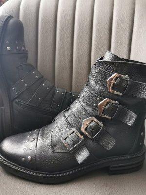 Coole Biker Boots mit Schnallen & Nieten