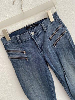J brand Jeans da motociclista blu scuro