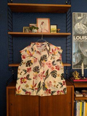Coole Blumen -Bluse