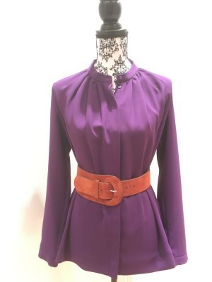 Coole Bluse Ultraviolett Casual