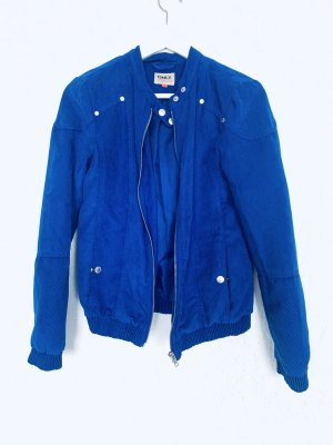 Coole Bomberjacke Übergangsjacke blau Only Gr. 36