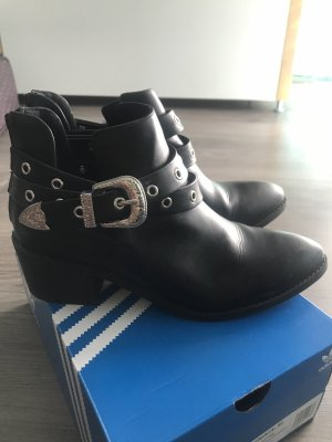 H&M Ankle Boots multicolored
