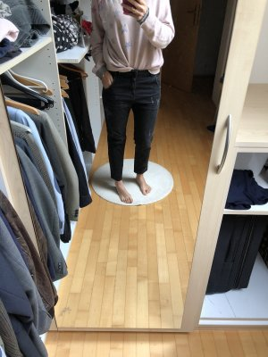 Diesel Jeans a 7/8 nero