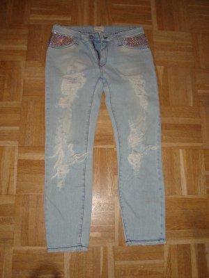 *Coole Boyfriend Loose Fit Destroyd Jeans von MET in Jeans*Original MET*Gr.26 (34-36)*