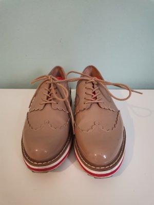 Zara Wingtip Shoes multicolored