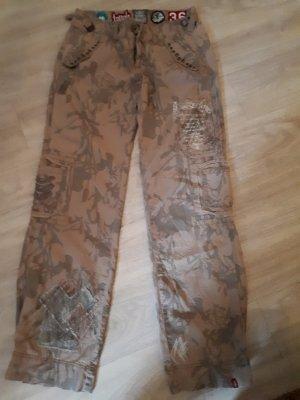 Esprit Cargo Pants camel cotton