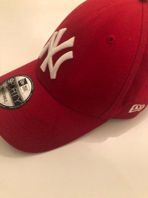 New Era Sombrero de ala ancha rojo