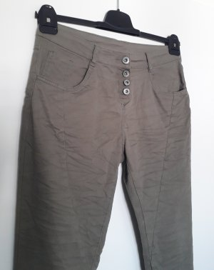 Ernestings Family , Gina Chinos green grey cotton