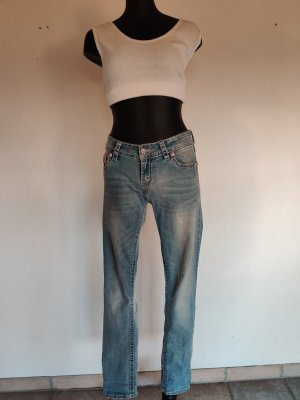 Blue Monkey Low Rise jeans lichtblauw