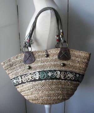 Gioseppo Basket Bag beige mixture fibre