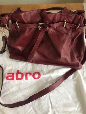 abro Pouch Bag bordeaux