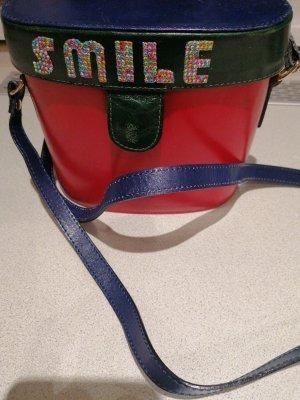 coole Handtasche echt Leder made in Italy
