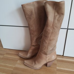 Marc Cain Boots western multicolore cuir