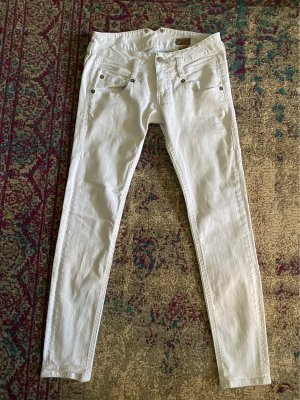 Herrlicher Jeansy biodrówki biały