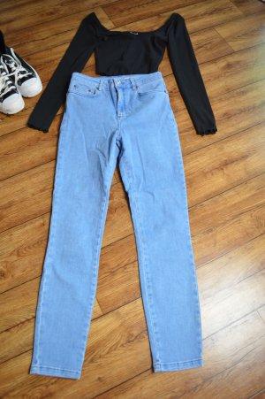Asos Denim Jeans skinny bleu azur