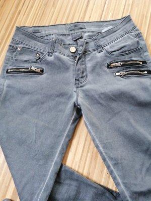 Pantalone a sigaretta grigio