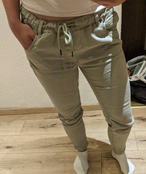 Boyfriend Trousers green grey
