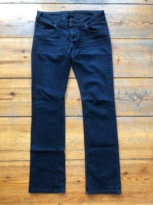 Review Jeans vita bassa nero Cotone