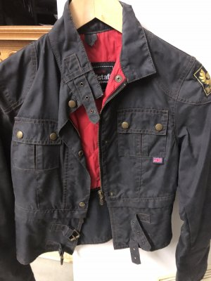 Belstaff Waxed Jacket anthracite-red