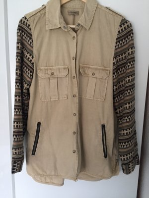 Pull & Bear Blouse Jacket multicolored