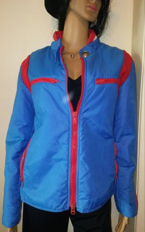 Long Jacket blue-red