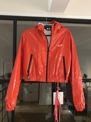 MSGM Short Jacket bright red