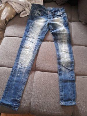 Boutique Ware Jeans a sigaretta blu scuro