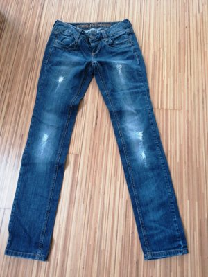 Tom Tailor Denim Jeans da motociclista blu