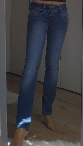 Pepe Jeans Jeans vita bassa azzurro-blu