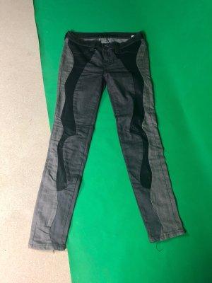 Be only Boot Cut spijkerbroek zwart-grijs