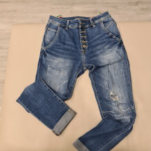 unknown Jeans boyfriend bleu