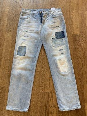 Coole Jeans mit Patches