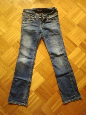 Pepe Jeans Broek met wijd uitlopende pijpen veelkleurig
