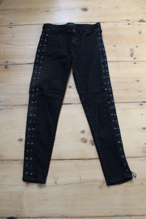 Coole Jeans mit Schnürung