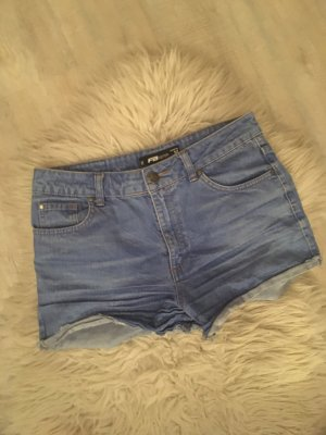 Fishbone Short en jean bleuet