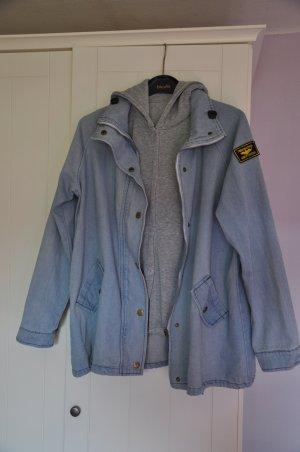 Denim Jacket azure-grey cotton