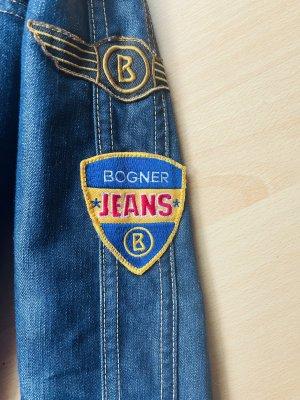 Bogner Jeans Blouson aviateur bleu
