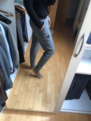 Coole Jogging Hose grau mit Sternen My Tshirt