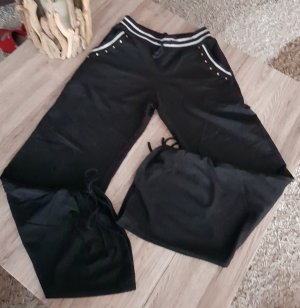pantalonera negro-color plata