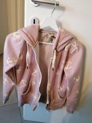 Aiki Chaqueta con capucha rosa empolvado