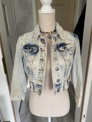 Coole kurze Jeansjacke Gr S