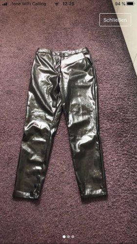 AC Skórzane spodnie czarny