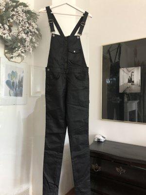 Zara Dungarees black cotton