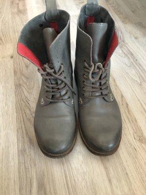 Coole Leder-Boots